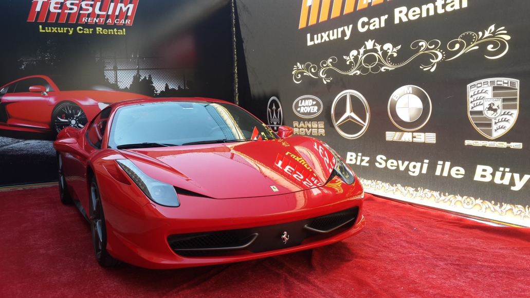 Ferrari 458 Italia Kiralama