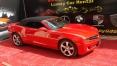 2012 model kırmızı Chevrolet Camaro Cabrio