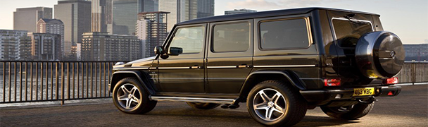 Mercedes G350 Jeep