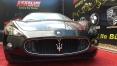 2013 model siyah Maserati Granturismo