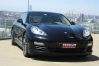 2013 model siyah Porsche Panamera